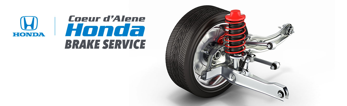 Brake Service for Honda & Other Car Makes in Coeur d'Alene, ID