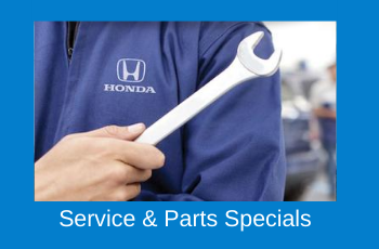 Honda technician holding wrench