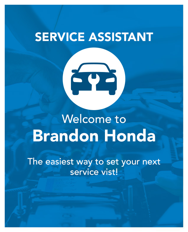 Service Assistant logo Welcome to Brandon Honda
