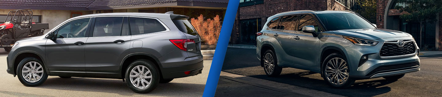 Three-Row SUV Comparison: 2020 Honda Pilot Vs. 2019 Toyota Highlander