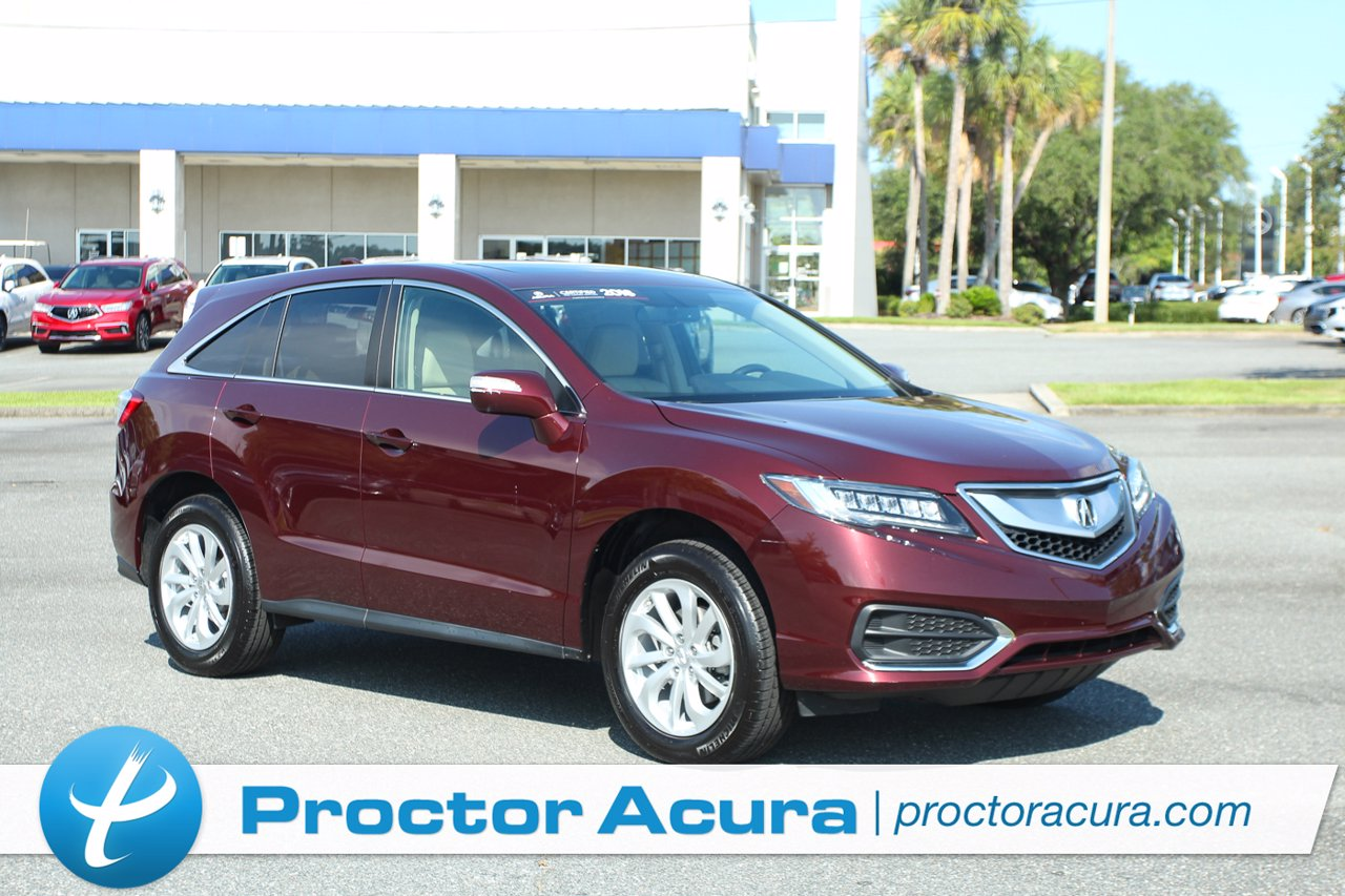 Certified 2018 Acura RDX W/Technology Pkg