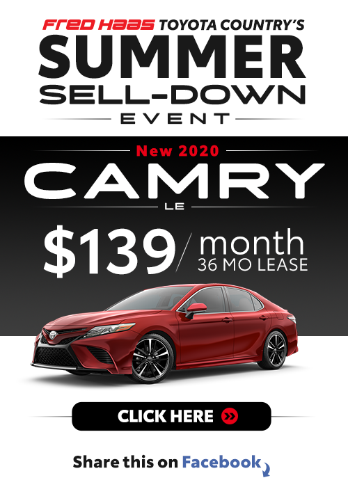 Lease a 2020 Toyota Camry