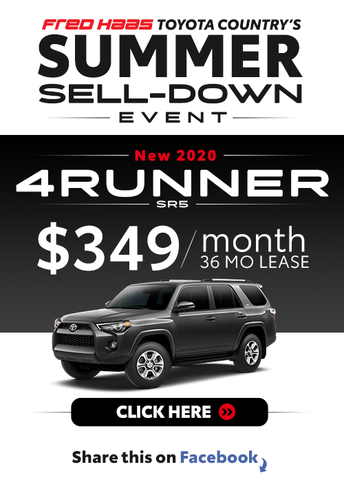 Lease a 2020 Toyota 4Runner