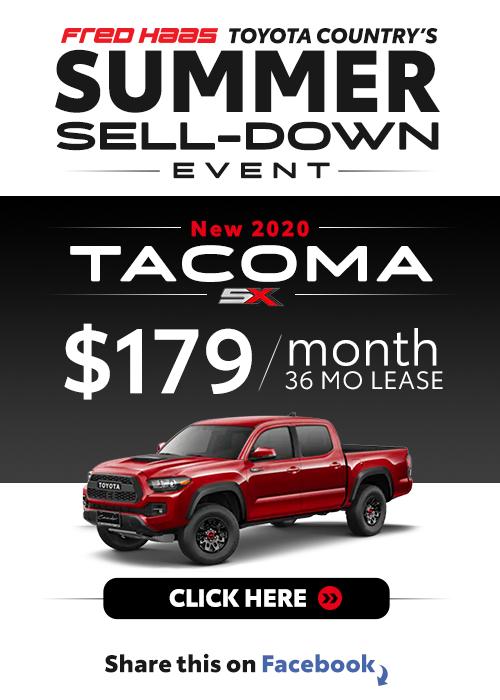 Lease a 2020 Toyota Tacoma