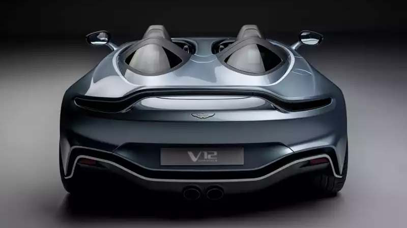 v12 speedster rear view
