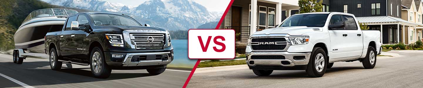 Premier Nissan of Metairie 2020 Titan Vs RAM 1500