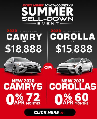 Last Chance Clearance at Fred Haas Toyota Country