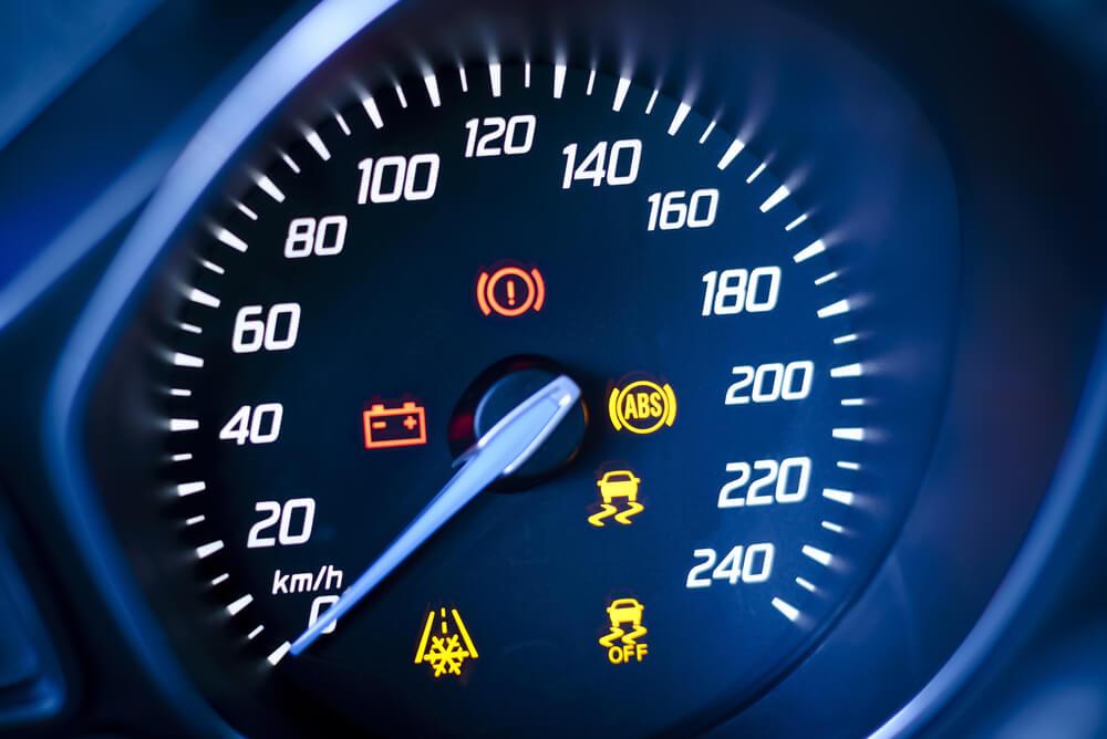 Dashboard Lights on Odometer