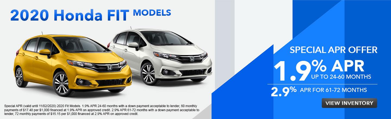 2020 Honda Fit APR