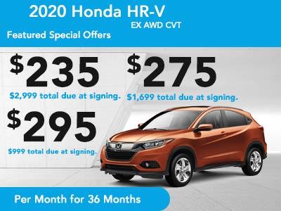 2020 HR-V EX AWD CVT