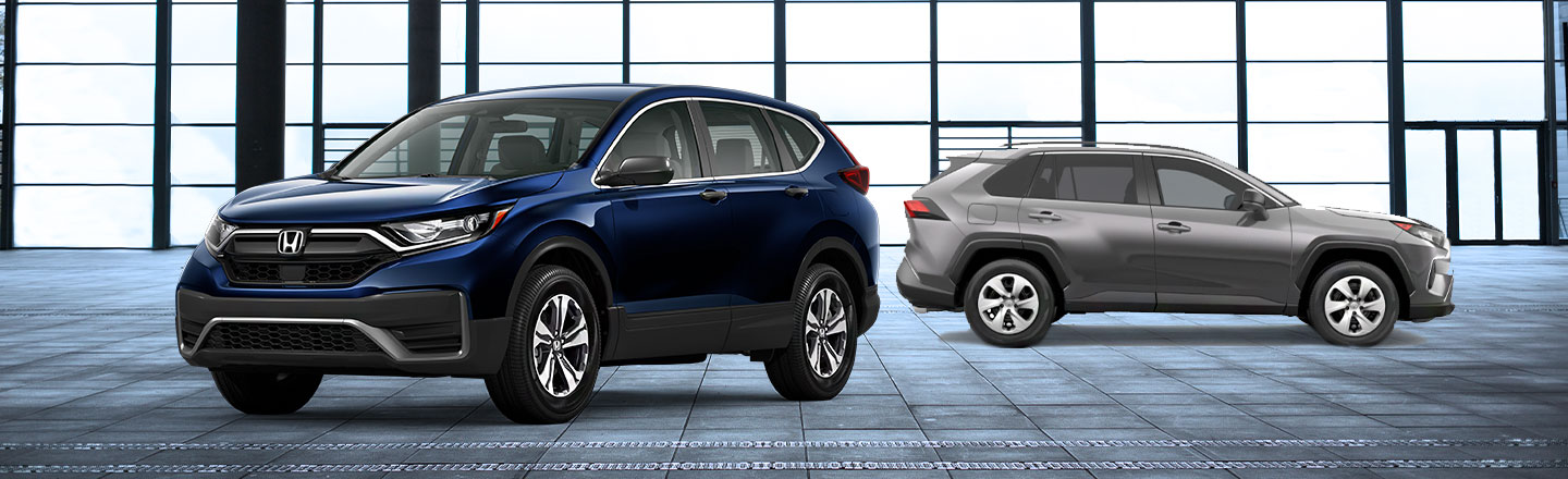 2020 Honda CR-V Vs. 2020 Toyota RAV4: Crossover SUV Comparison
