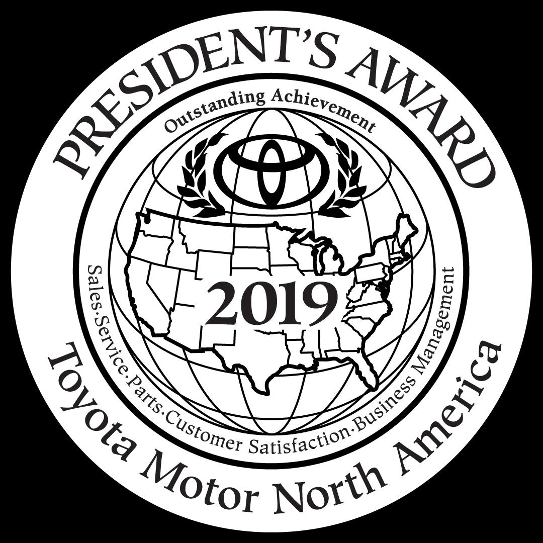 2019 Toyota Motor North America President's Award