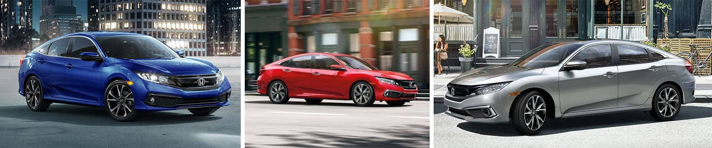 What Are the 2020 Honda Civic Sedan Color Options
