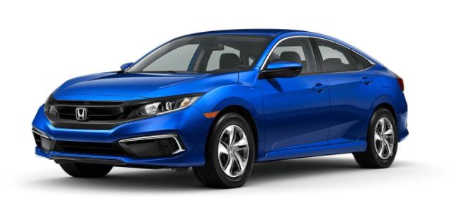 aegean blue Honda Civic