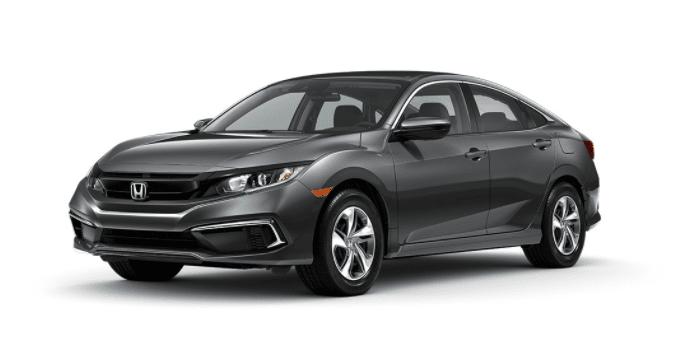 modern steel metallic Honda Civic