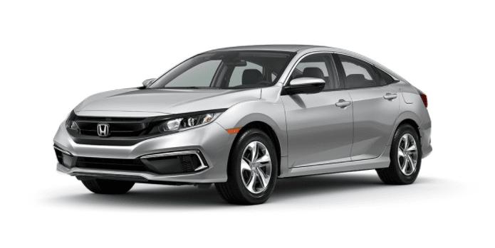 lunar silver Honda Civic
