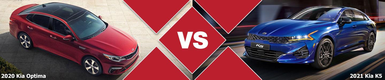 2020 Kia Optima vs 2021 Kia K5 Sedan Comparison