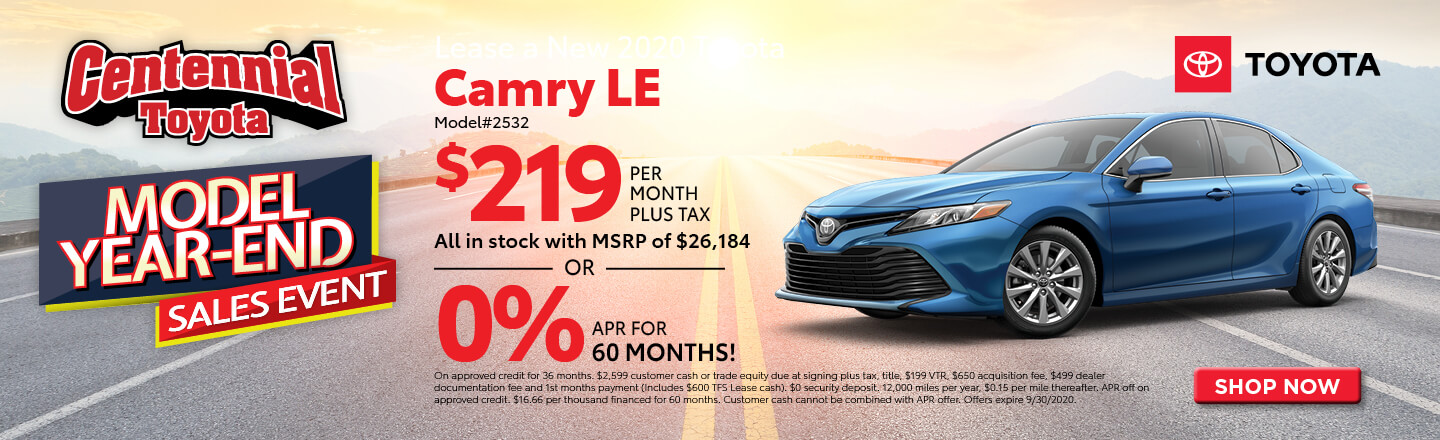 2020 Camry LE