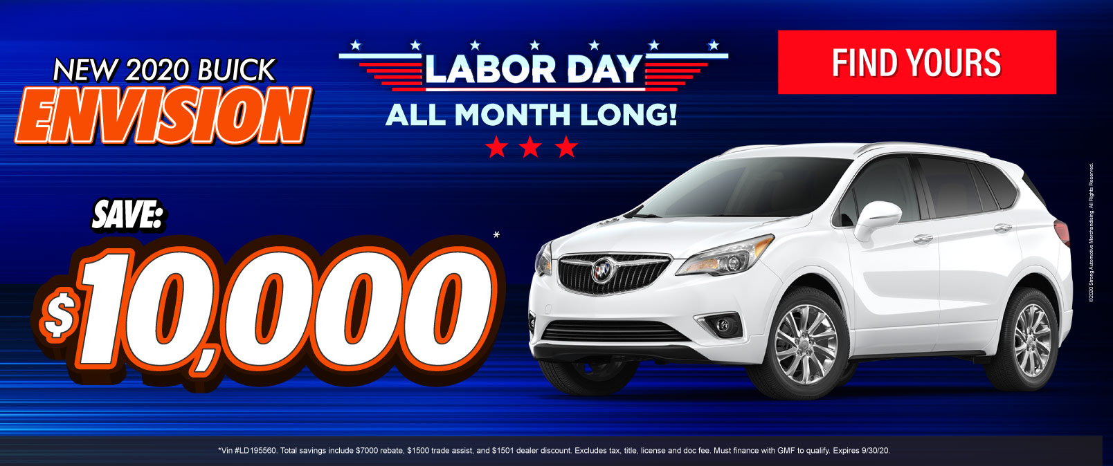 New 2020 Buick Envision - Save $10,000