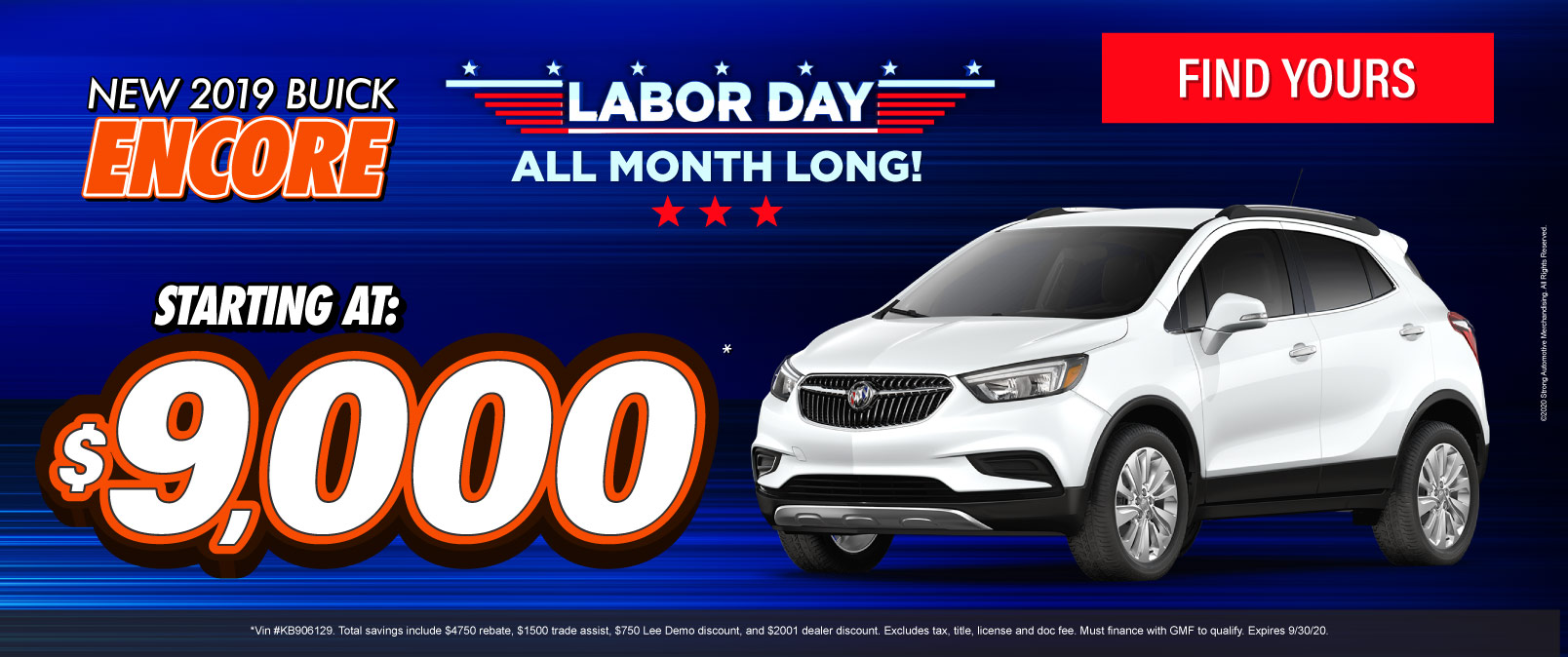 New 2019 Buick Encore - Starting at $9,000