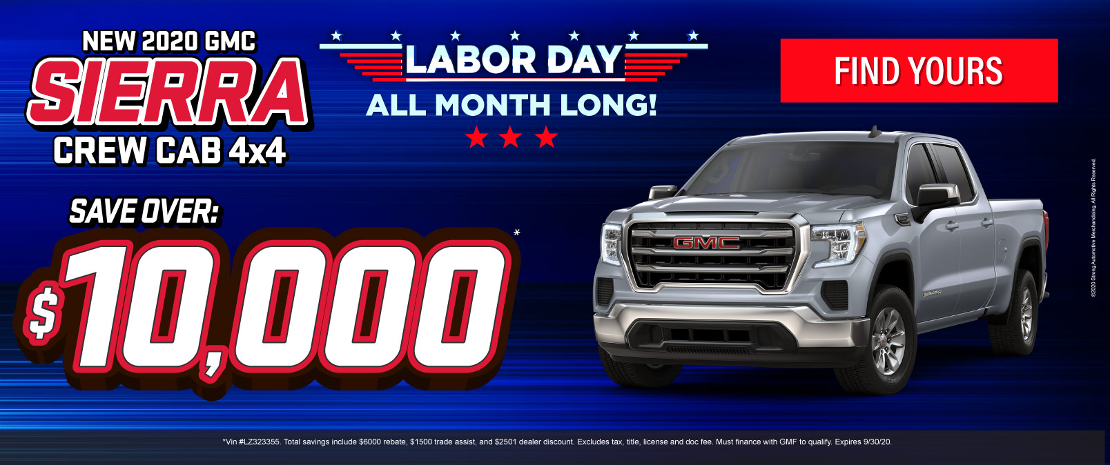 New 2020 GMC Sierra - Save over $10,000