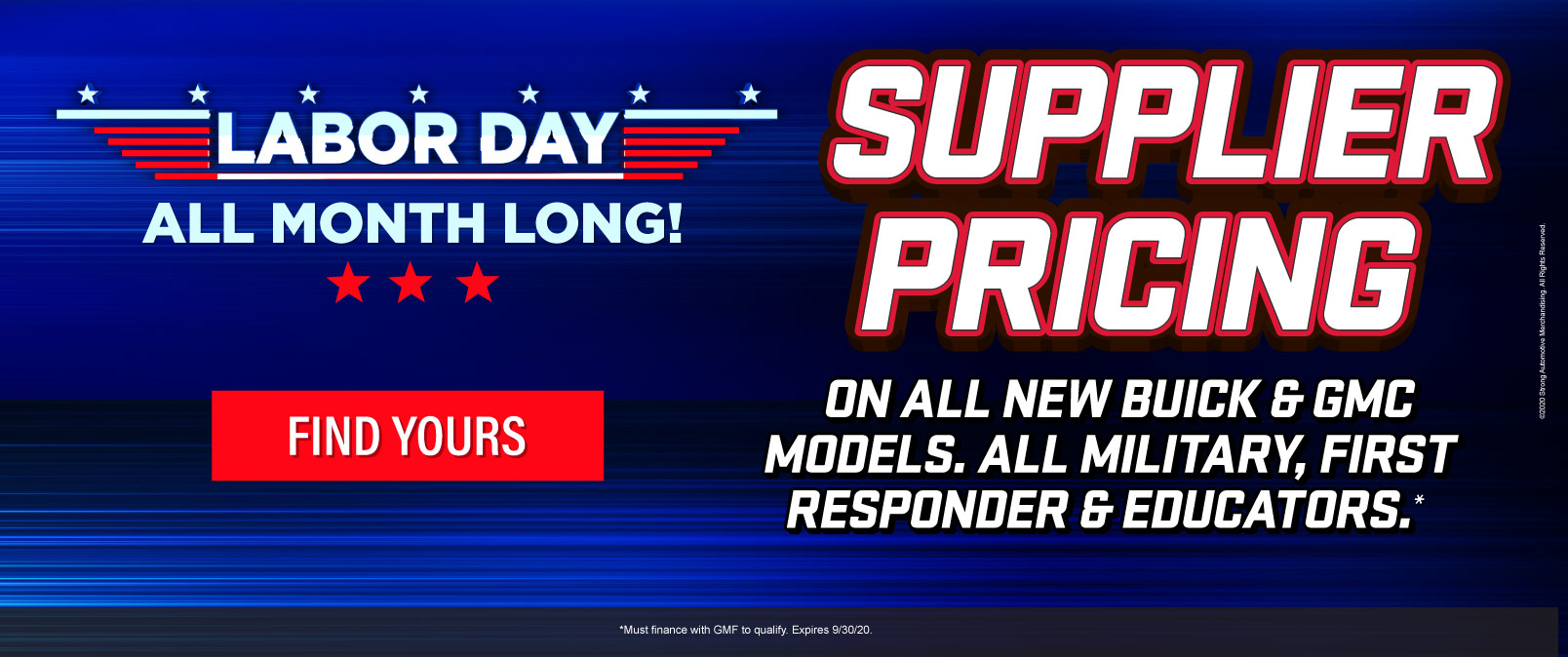Supplier Pricing on all new Buick/GMC Models