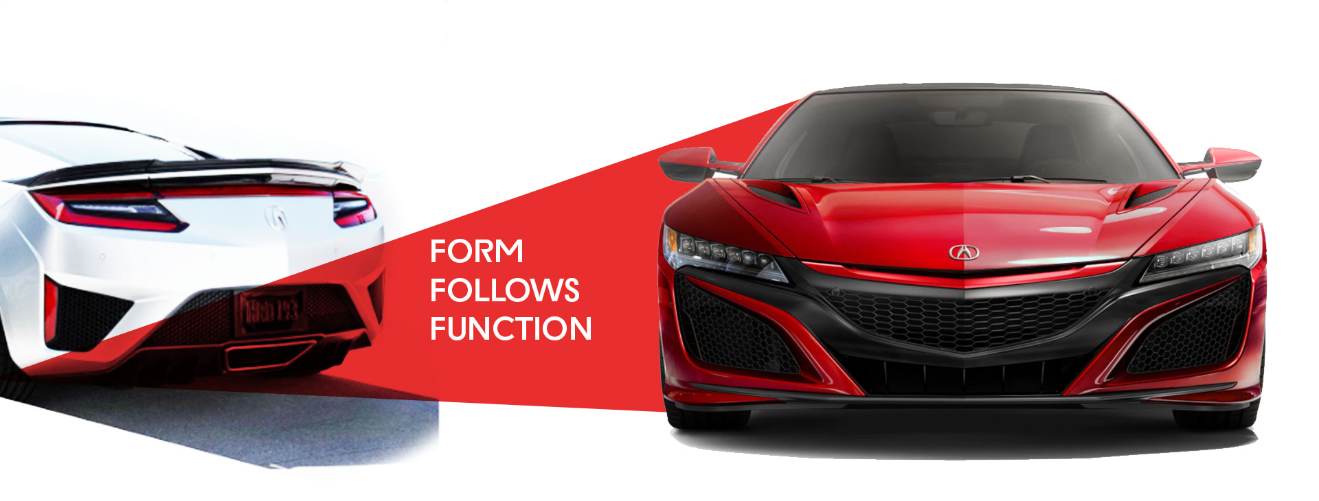 2020 Acura NSX Coupe Form Follows Function