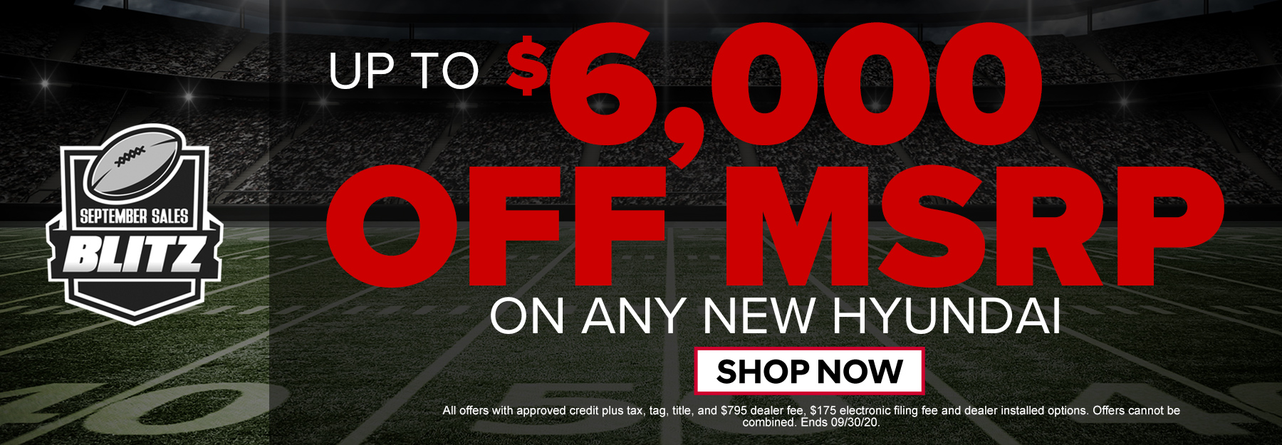 Up To $6000 off MSRP