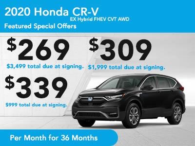 2020 CR-V EX Hybrid FHEV CVT AWD