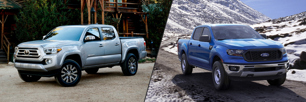 Toyota Tacoma vs Ford Ranger