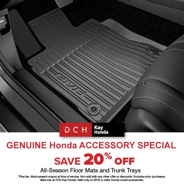 Genuine Honda Accessory Special