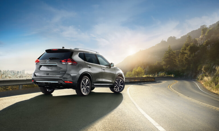 2020 Nissan Rogue exterior on scenic highway