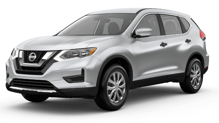 2020 Nissan Rogue S - Brilliant Silver