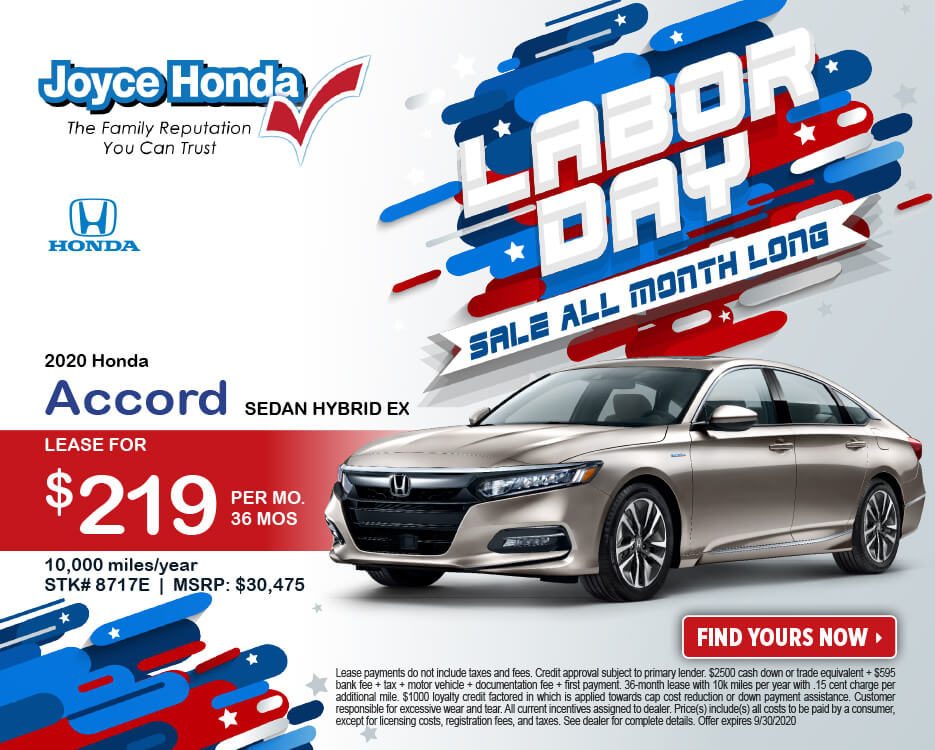 2020 Accord Sedan Hybrid