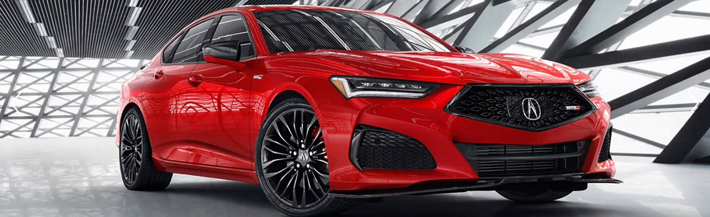 All-New 2021 TLX On Road