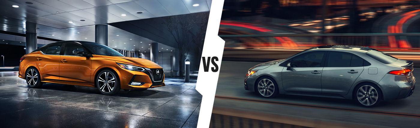 Nissan SUV Comparison: 2020 Nissan Sentra Vs. 2020 Toyota Corolla