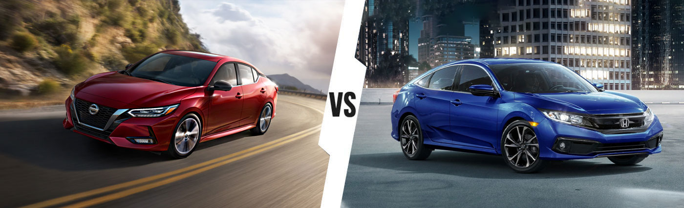 Nissan SUV Comparison: 2020 Nissan Sentra Vs. 2020 Honda Civic