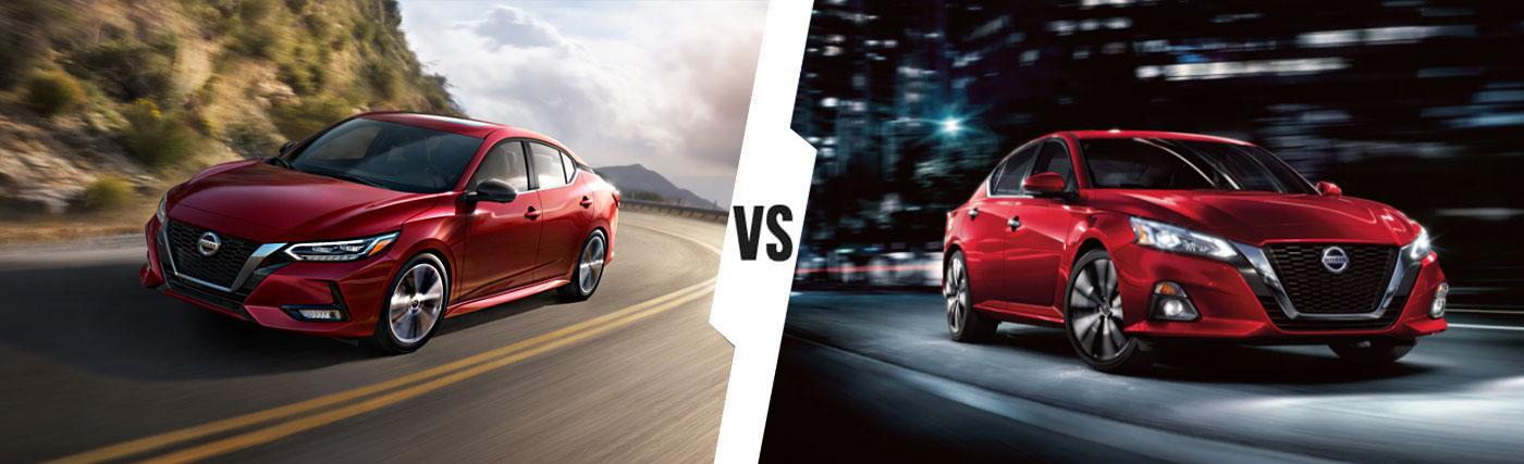 Nissan SUV Comparison: 2020 Nissan Sentra Vs. 2020 Nissan Altima