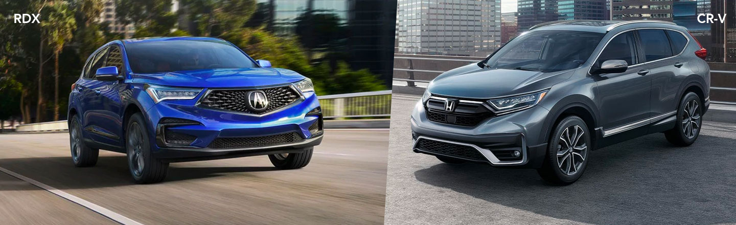 Compare The 2021 Acura RDX Versus The 2021 Honda CR-V Near Philadelphia, PA