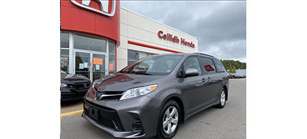 Used 2019 Toyota Sienna LE 8-Passenger FWD