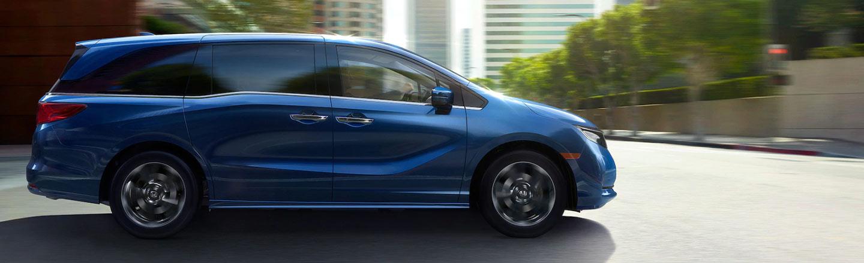 Discover The 2021 Honda Odyssey Minivan At Walker Jones Honda Near Blackshear, Georgia