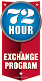 72 hour exchange program
