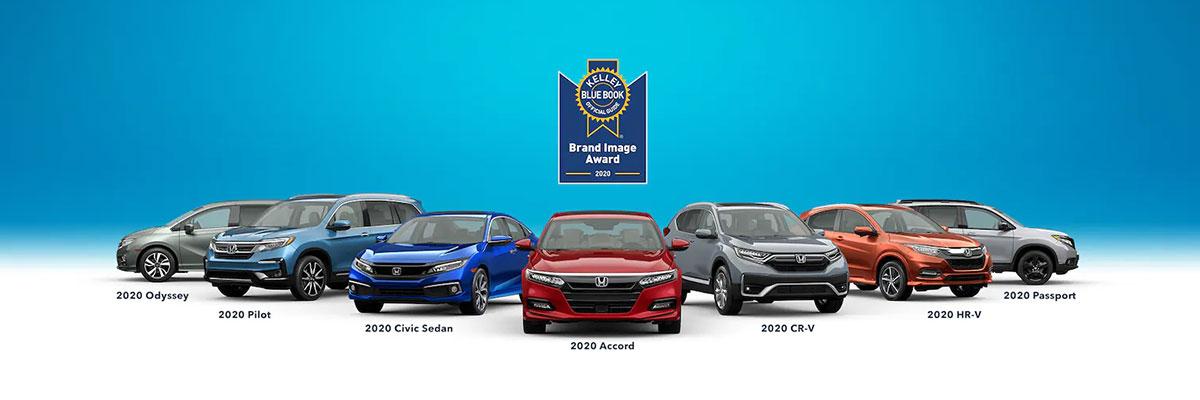 Honda Named 2020 Best Value Brand by KBB