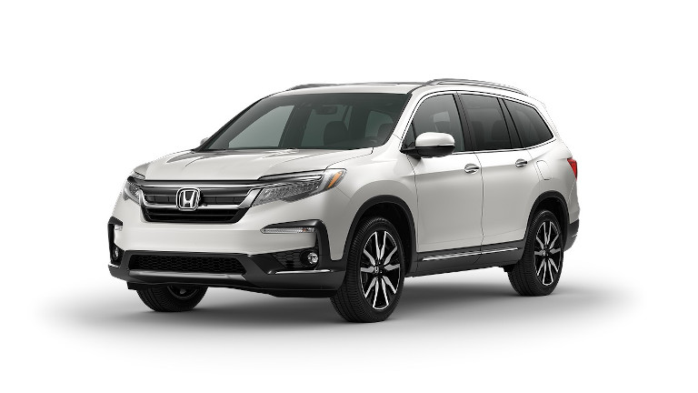 2021 Honda Pilot Platinum White Pearl