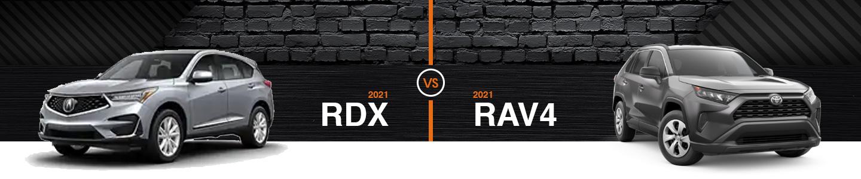 Learn How the 2021 Acura RDX & 2021 Toyota RAV4 Compare