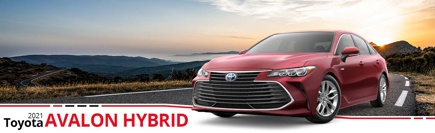 2021 Toyota Avalon Hybrid - Red model