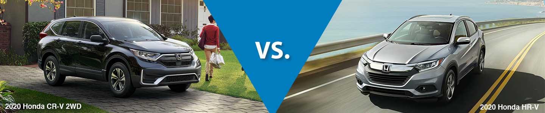 Honda Crossover SUV Comparison: 2020 Honda CR-V Vs. 2020 Honda HR-V
