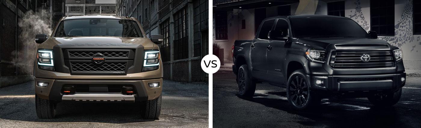 Truck Comparison: 2021 Nissan Titan Vs. 2021 Toyota Tundra