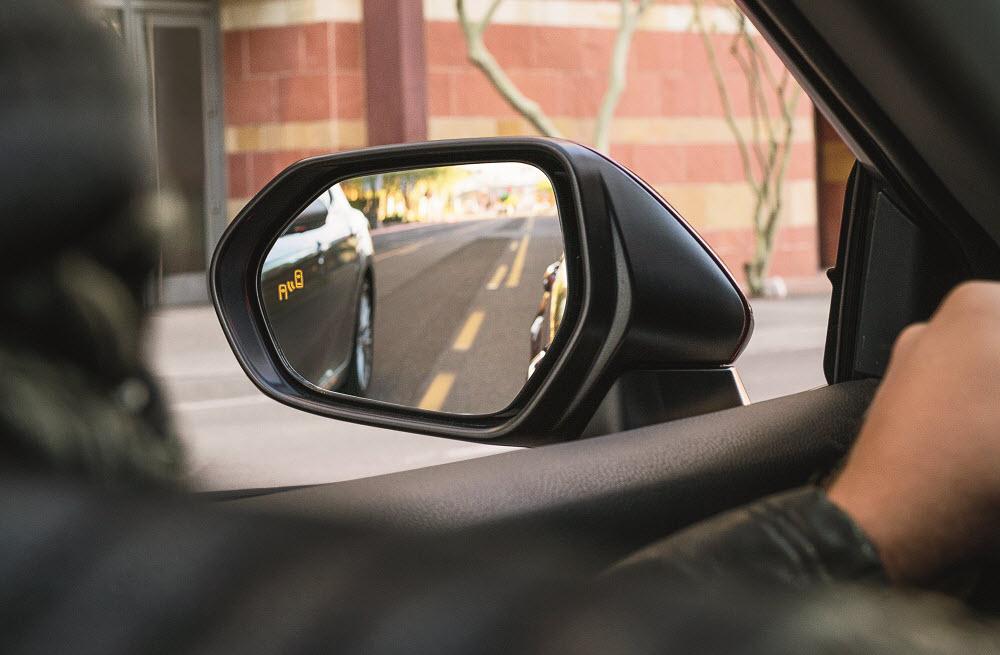 Toyota Camry Blind Spot Safety