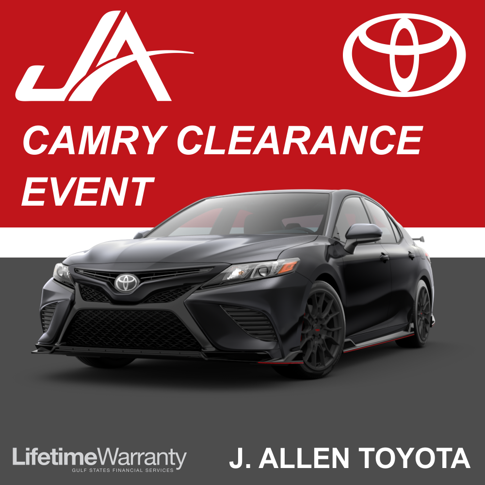 Camry Clearance Event